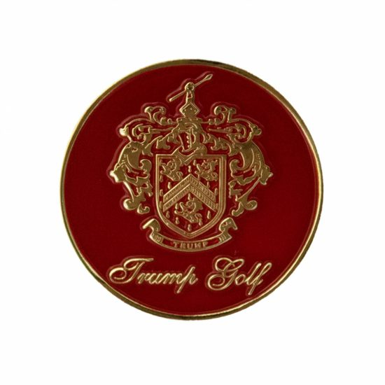 Trump Golf Ball Marker - Red