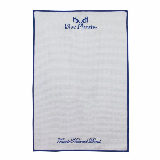 Blue Monster Performance Golf Towel