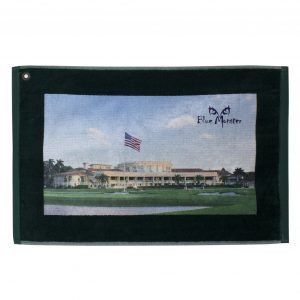 Blue Monster Doral Golf Towel