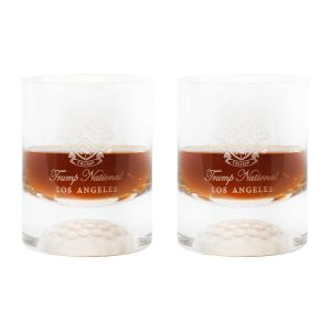 Fairway on the Rocks Glass - Set of 2