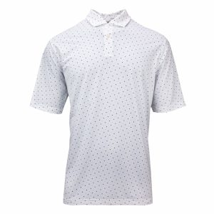 National Print Jersey Polo