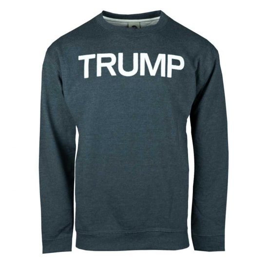 Navy Collegiate Trump Crew Neck