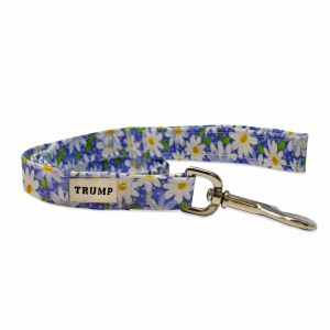 Purple Daisy Pet Leash