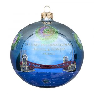 Chicago Fireworks Ornament
