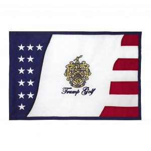 Trump Golf Stars and Stripes Pin Flag