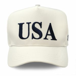 USA 45 Hat - White