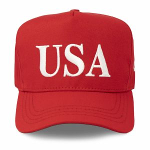 USA 45 Hat - Red